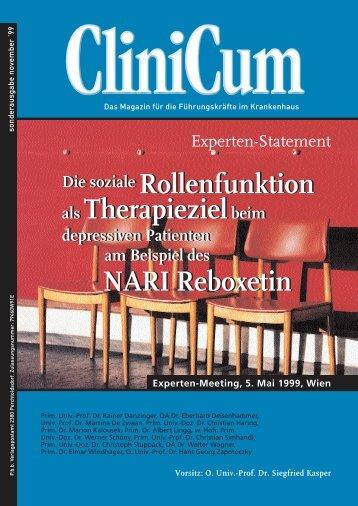NARI Reboxetin - Medizin Akademie