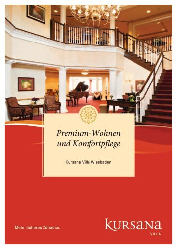 pdf Broschüre Villa Wiesbaden - Kursana