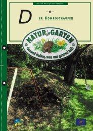 Der Komposthaufen - Natur im Garten