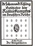 geschichte des kulturkampfes im deutschen reiche erster band - Seite 5