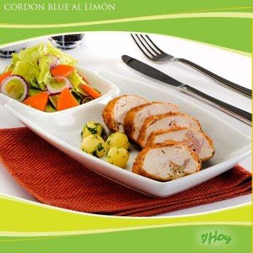 Cordon Blue al limón