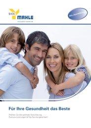 Service & Leistungen - bkk mahle