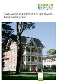 AWO Gesundheitzentrum am Spiegelwald, Grünhain ... - Barmer GEK