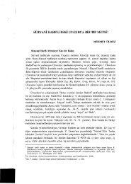 Süryani Harfli Eski Uygurca Bir Tıp Metni