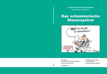 Das schweizerische Steuersystem - admin.ch