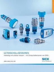 UM18-2 Hi Ultraschallsensoren - Mysick.com