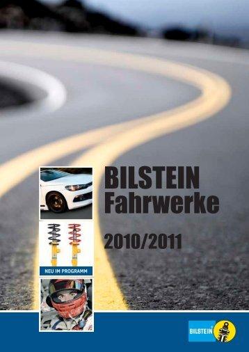 Bilstein-Fahrwerken.