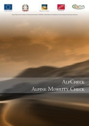 AlpCheck Alpine Mobility Check - Alpine-space.org