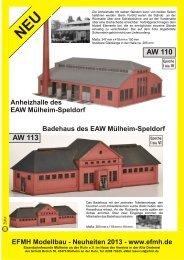 Produktneuheiten 2013 - Eisenbahnfreunde Mülheim an der Ruhr eV