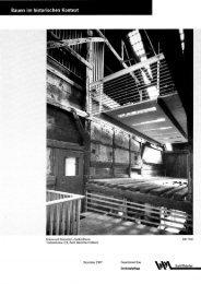 Bauen im historischen Kontext - Winterthur Glossar