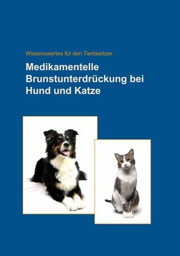 Medikamentelle Brunstunterdrückung bei Hund und Katze - Selectavet