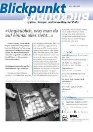 NR. 02 | MAI 2003 - Zürcher Hoteliers, Regionalverband Zürich und ...