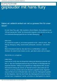 Geplauder mit Hans Flury (PDF) - Schweizerische Gesellschaft für ...