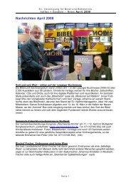 April 2008 - Evangelische Vereinigung für Bibel und Bekenntnis in ...