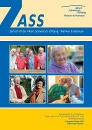 Ausgabe 4 von 10/2007 [PDF, 890 KB] - Albert Schweitzer Stiftung