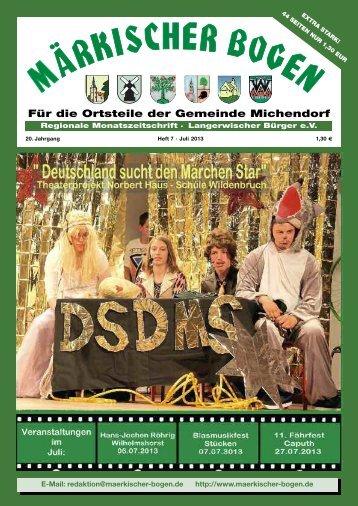 Heft 3 MB 2013 - Märkischer Bogen