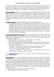 Kurze Einführung in EchoLink von Fred, OE3BMA Da über ... - QTH.at