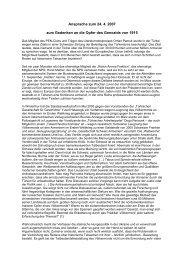 Ansprache zum 24. April 2007 von Jan Philipp Reemtsma