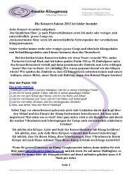Termine Konzerte (pdf) - Kreative Klangpraxis, Wolfgang Rogg