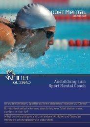 Ausbildung zum Sport Mental Coach - Sport Mental Akademie
