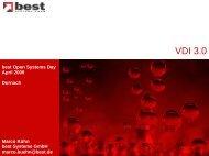 VDI 3.0 - best Systeme Gmbh