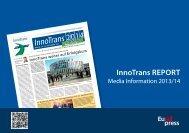 Media Informationen InnoTrans REPORT (PDF, 698,9 kB)