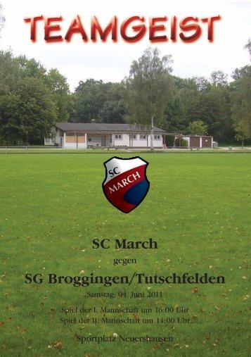SC March SG Broggingen/Tutschfelden