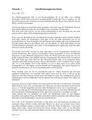 Thema Nr. 1: Das Offenbarungsprinzip Gottes Text: 2. Kor. 3,18 Das ...