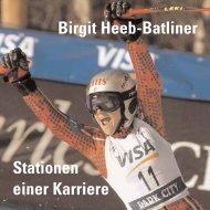 Birgit Heeb-Batliner Stationen einer Karriere - Alexander Batliner Est.