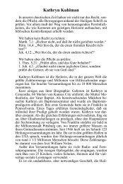Kathryn Kuhlman - und Schriftenmission Dr. Kurt E. Koch eV