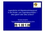 Vortrag - 'Jugendliche mit Migrationshintergrund in der Kinder ... - BAG