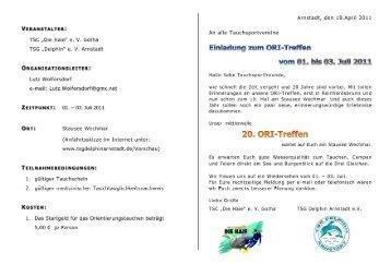 20. Oritreffen Wechmar - LTVT