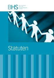 Statuten - BHS