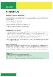 Kompost für gesunde, aktive Böden - Hauert.com