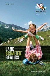 lh gesamtprospekt 2013 L10.indd - Landhotels Österreich