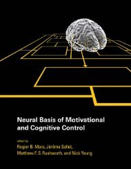 Neural Basis of Motivational and Cognitive Control - Neuroanatomy