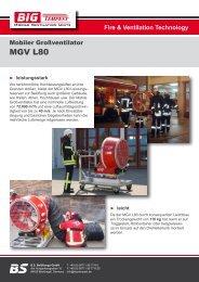 MGV L80 – Technische Daten - Big Tempest