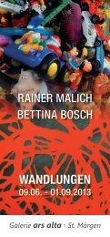 Wandlungen - Bettina Bosch