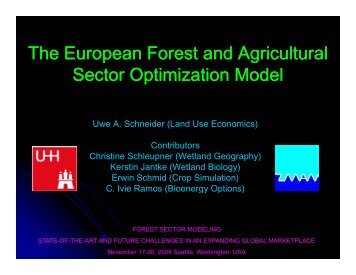 Presentation - Center for International Trade in Forest Products ...