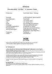 AGB als PDF downloaden - Gössl-Salzburg