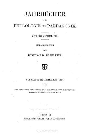 JAHRBIICHtrR - Leben und Werk des Dichters Gottfried August Bürger