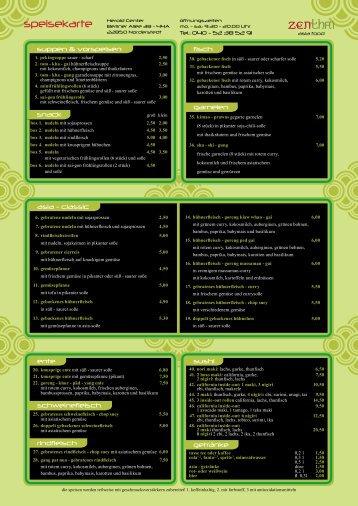 Als PDF-Datei (1,7 MB) - zenthai - asia food