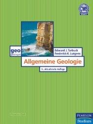 Allgemeine Geologie  - *ISBN 978-3-8273-7335-9 ...