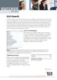 ELO isearch - die intelligente Suche - Fluctus IT GmbH