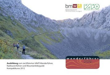 vavö folder 12:Layout 2.qxd - Verband alpiner Vereine Österreichs