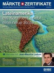 Lateinamerika – ein Kontinent erlebt eine neue Blüte - Markets from ...