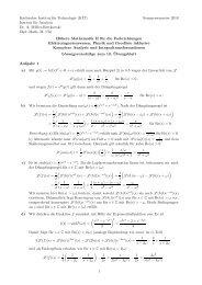 Lösung 13 - KIT