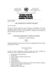 Ligji Nr.2004/37 PËR INSPEKSIONIN E ARSIMIT NË KOSOVË Kuve