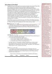 Stoffwechsel- Basics