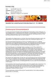 Erweiterung der Führerscheinklasse B - Landesfeuerwehrverband ...
